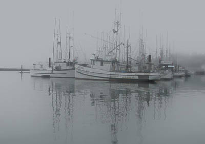 Ghost Boats Art Print by Jean Noren