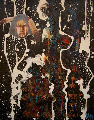 Dance Mixed Media - Ghost Dancer by Alice Schwager
