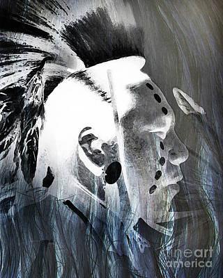 Seeking Digital Art - Ghost Dancer by Terril Heilman