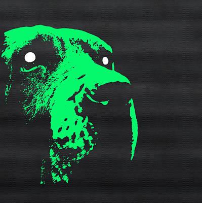 Hounds Digital Art - Ghost Dog by Edouard Coleman