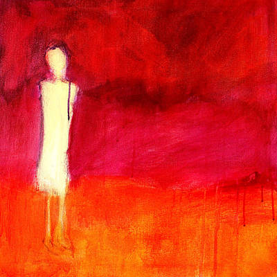 Painting - Ghost Figure No. 5 by Nancy Merkle