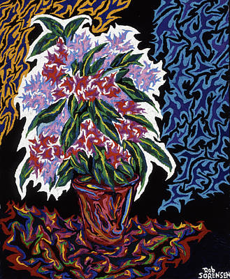 Painting - Ghost Flower by Robert SORENSEN