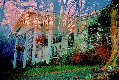 Ghost House Bold Art Print by Kasha Baxter