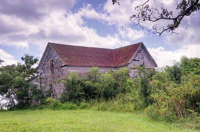Photograph - Ghost House On The Hill by Douglas Barnett