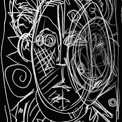 Drawing - Ghost by John Stillmunks