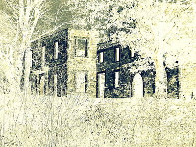 Photograph - Ghost Mansion by Marcia Lee Jones