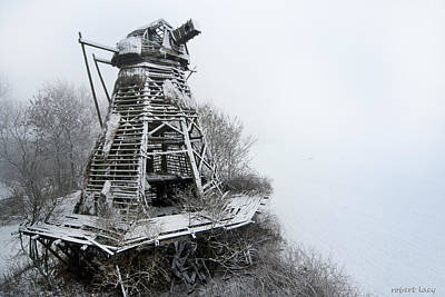 Scandanavia Photograph - Ghost Mill by Robert Lacy