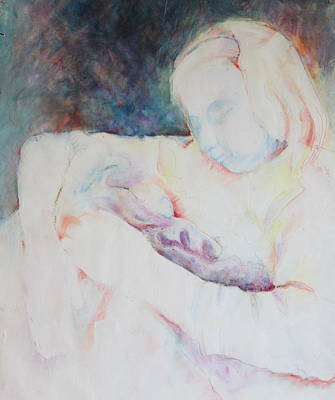 To Heal Painting - Ghost Mother by Catherine Foster