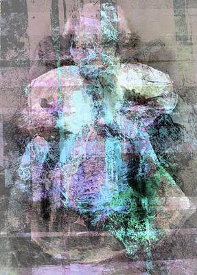 Mixed Media - Ghost Of A Child by Dorothy Berry-Lound