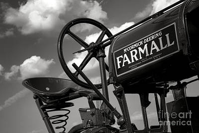 Photograph - Ghost Of Farmall Past by Olivier Le Queinec
