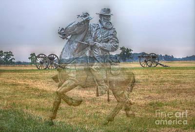 Ghost Of Gettysburg Art Print