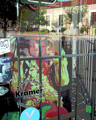 Ghost Of Jimi Art Print