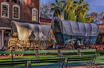 Mark Myhaver Rights Managed Images - Ghost of Old West No.2 Royalty-Free Image by Mark Myhaver