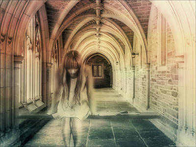 Photograph - Ghost Of The Abbey by Georgiana Romanovna