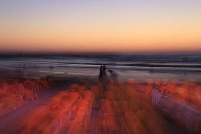 Photograph - Ghost On A Beach. by Shlomo Zangilevitch