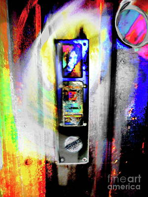 Photograph - Ghost ,porthole  And The Swinging Door  by Expressionistart studio Priscilla Batzell