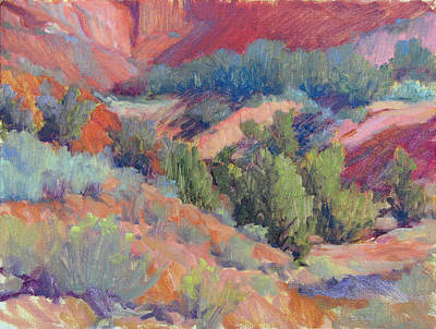 Painting - Ghost Ranch Canyon by Marsha Savage