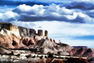 Abiquiu Painting - Ghost Ranchers by Jim Buchanan
