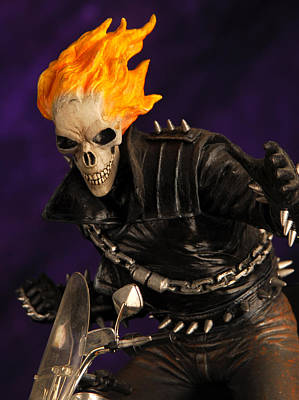 Collectables Mixed Media - Ghost Rider by Craig Incardone