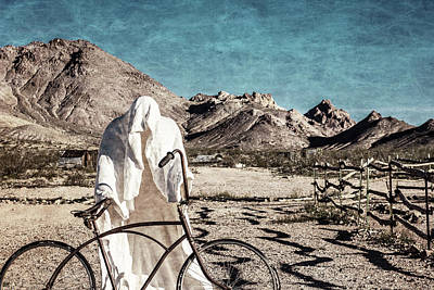 Ghost Riders Photograph - Ghost Rider by George Buxbaum