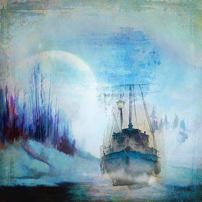 Photograph - Ghost Ship by Diana Boyd