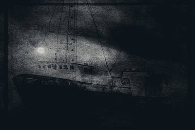 Ghost Ship Print by Jim Cook