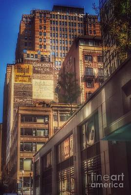 Photograph - Ghost Signs Of New York by Miriam Danar