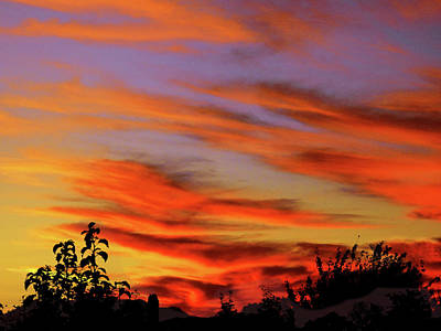 Photograph - Ghost Sunset by Mark Blauhoefer