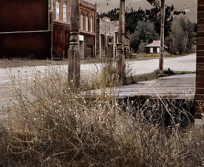 Ghost Town Photograph - Ghost Town 2 by Leland D Howard
