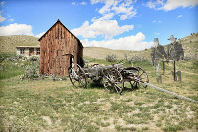 Photograph - Ghost Town Blues by Steve McKinzie