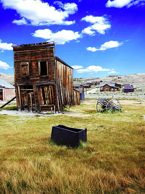 Photograph - Ghost Town Building by Alan Socolik