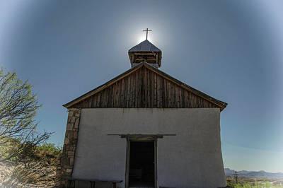 Photograph - Ghost Town Church by Bonnie Davidson