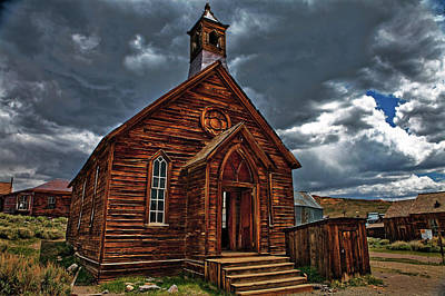 Photograph - Ghost Town Church by Nathaniel Grant
