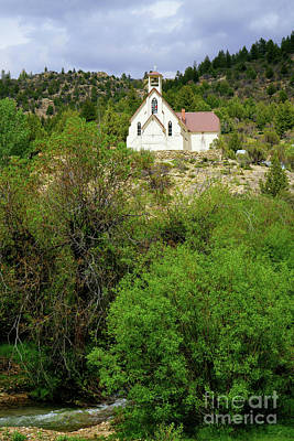 Photograph - Ghost Town Church by Roxie Crouch