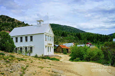 Photograph - Ghost Town Main Street by Roxie Crouch