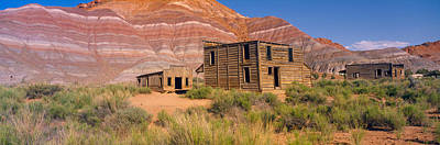 Old West .america Photograph - Ghost Town, Movie Set, Paria, Utah by Panoramic Images