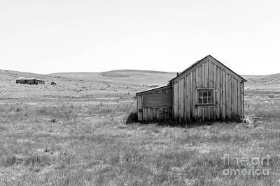 Photograph - Ghost Town Of Bodie California Dsc4409bw by Wingsdomain Art and Photography
