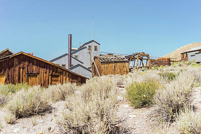 Photograph - Ghost Town Of Bodie California Dsc4446 by Wingsdomain Art and Photography