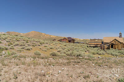 Photograph - Ghost Town Of Bodie California Dsc4480 by Wingsdomain Art and Photography