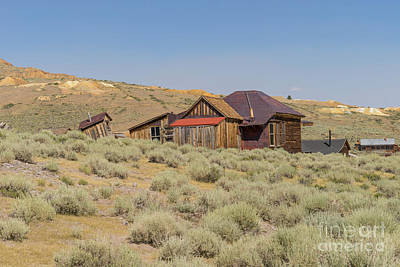 Photograph - Ghost Town Of Bodie California Dsc4481 by Wingsdomain Art and Photography