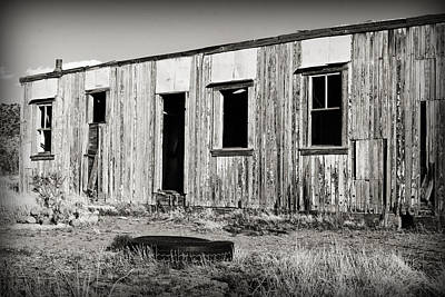 Photograph - Ghost Town Relic In Cuervo by Patricia Montgomery