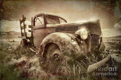 Photograph - Ghost Town Relic by Sharon Seaward
