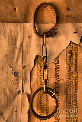 Bannack State Park Photograph - Ghost Town Shackles by Adam Jewell