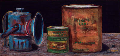 Painting - Ghost Town Still Life by Diana Wade