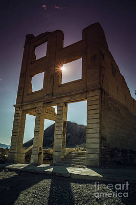 Photograph - Ghost Town Structure by Blake Webster