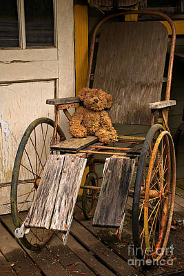 Photograph - Ghost Town Teddy by Adam Jewell
