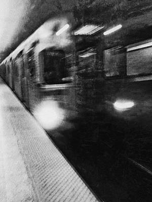 Wall Art - Photograph - Ghost Train by George Michael