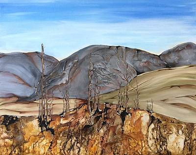 Painting - Ghost Valley by Pat Purdy