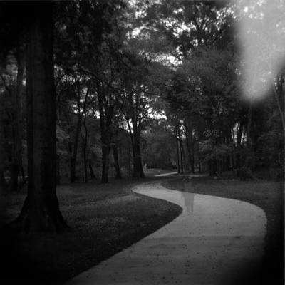 Holga Toy Camera Photograph - Ghost Walker 2 by Paul Anderson