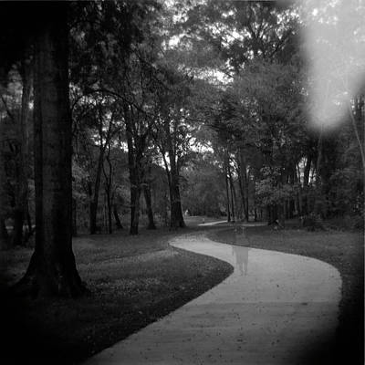Holga Toy Camera Photograph - Ghost Walker by Paul Anderson